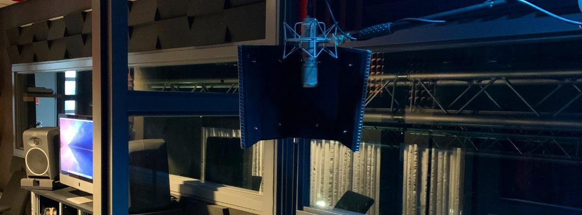 Capsloc Header geluidsstudio